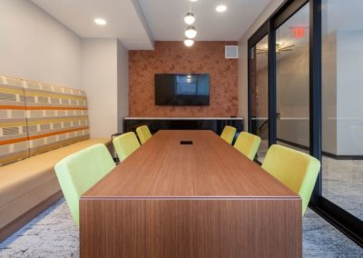 Conference room for Chocolate Works apartments in Philadelphia